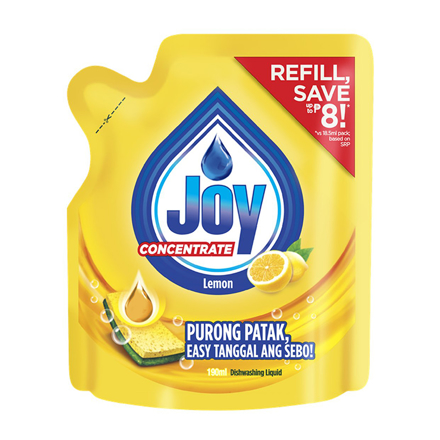 Picture of Joy Lemon Concentrate Dishwashing Liquid, JOY31