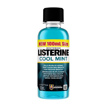 图片 Listerine Mouthwash Cool Mint Mouthwash, LIS02