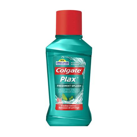 图片 Colgate Plax Freshmint Splash Mouthwash, COL102