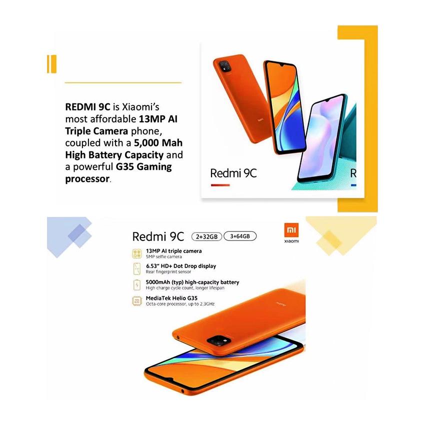 Picture of Xiaomi Redmi 9C Android Smart Phone, XIAR9C