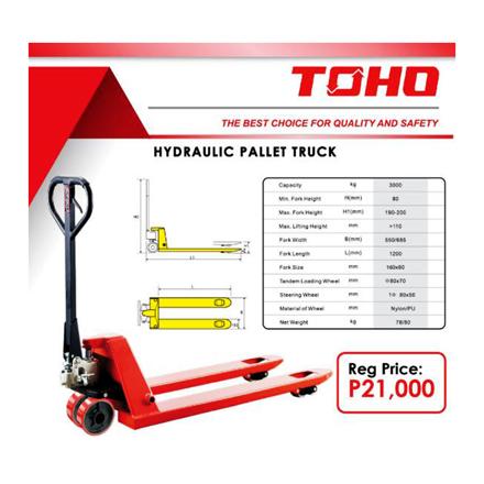 图片 Toho Hydraulic Pallet Truck, TOH21