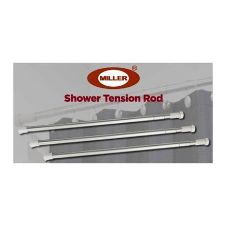 圖片 Miller Aluminum Shower Tension Rod, ML204S