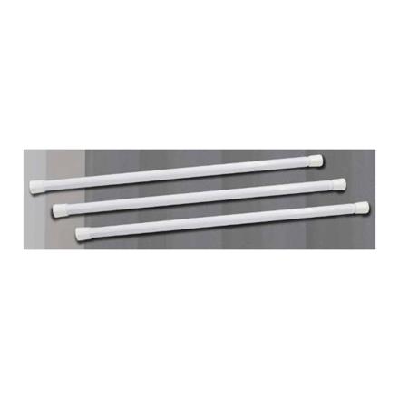 圖片 Miller White Shower Tension Rod, ML204