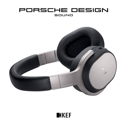 图片 KEF Porsche Design Sound, Space One Wireless Headphoes, KEFPDW21