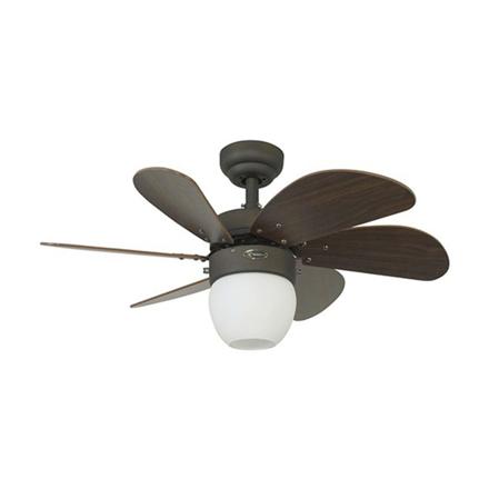"""圖片 Westinghouse Turbo Swirl 30"""" Oil Rubbed Bronze Ceiling Fan, WH72064"""
