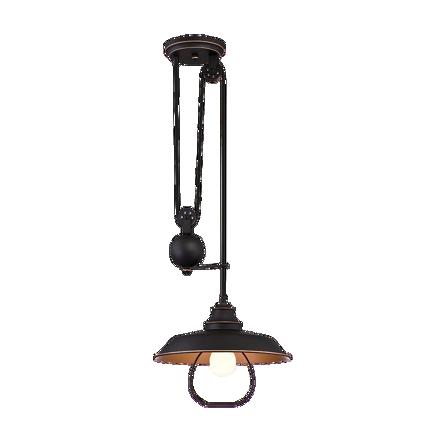 圖片 Westinghouse 1 Light Pulley Pendant Lamp, WH63325R