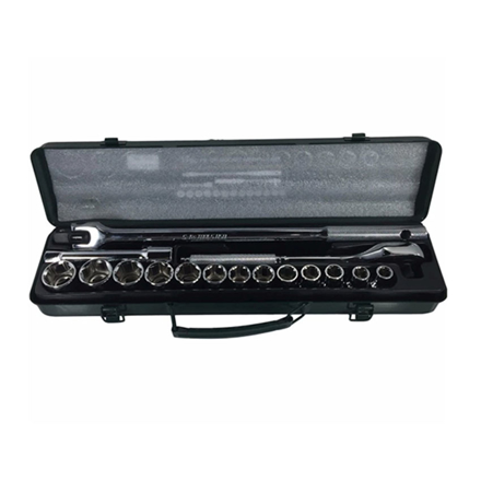 圖片 S-Ks Tools USA Socket Wrench Set (Chrome), A-17