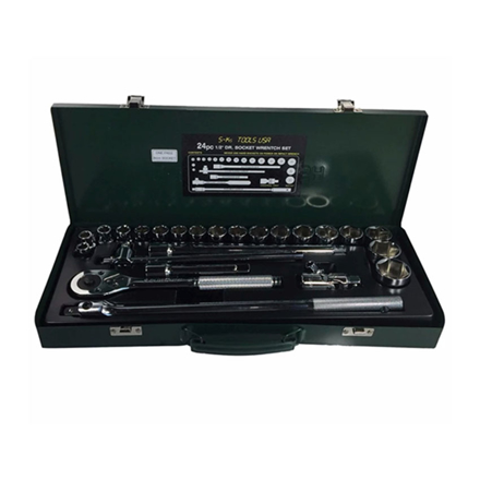 圖片 S-Ks Tools USA Socket Wrench Set (Chrome), A-24