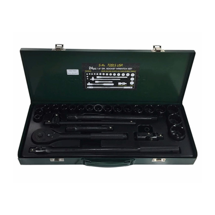圖片 S-Ks Tools USA Socket Wrench Set (Black), B-24