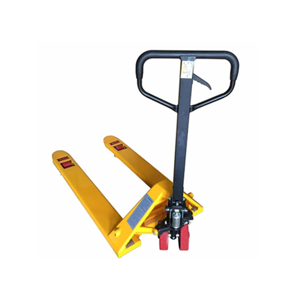 图片 S-Ks Tools USA Heavy Duty 3 Ton Hydraulic Pallet Truck (Yellow/Black), JMHPT-A-3T