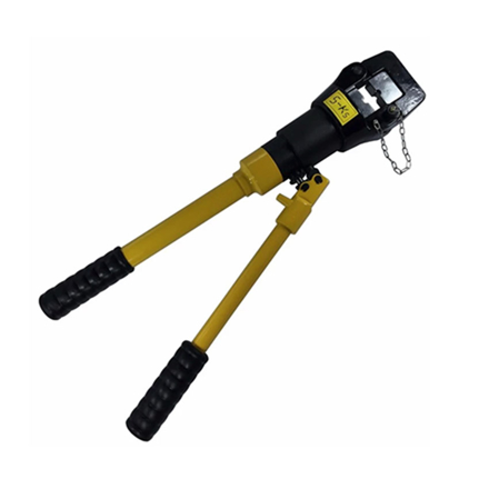 图片 S-Ks Tools USA 16 Tons Hydraulic Crimping Plier Cable Crimper (Black/Yellow), JMYQ-400A