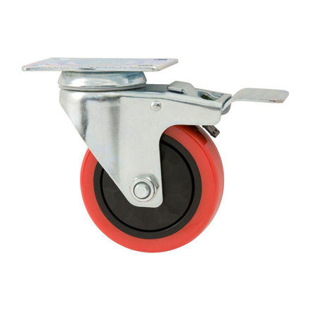 "图片 Caster Wheel Rubber 8"", CWR8"""