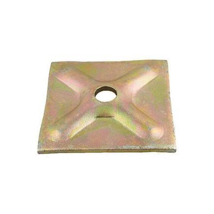 """图片 Tie Rod Thrust Plate 4"""" x 4"""", TRTP4""""x4"""""""
