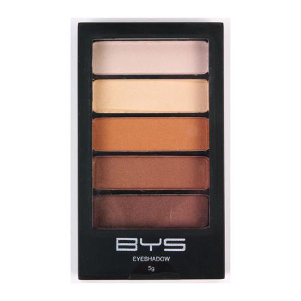 图片 BYS Horizontal Eyeshadow Palette 5-piece (Natural Delight, Sun Kissed), CO/ESH5ND