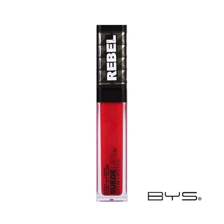 圖片 BYS Suede Lips Satin Lipstick 6g (Rebel, Dark Rose, Rosy Nude), CO/LQOSRP