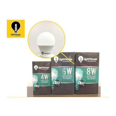 圖片 Lighthouse LED Bulb 6W, LHP45E27-6W-DL