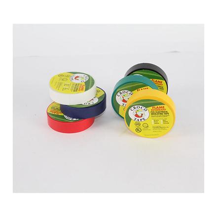 图片 Croco Tape PVC Electrical Insulating Tape (Yellow, Blue, Red, Green), CROCO-ETAPE