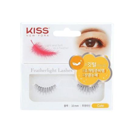 图片 Kiss New York Featherlight Lashes (Cute, Lovely, Natural, Sexy), KFL08K
