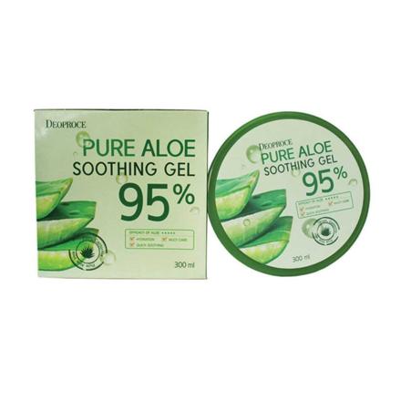 图片 Deoproce Pure Aloe Soothing Gel 200 ML, 38078449