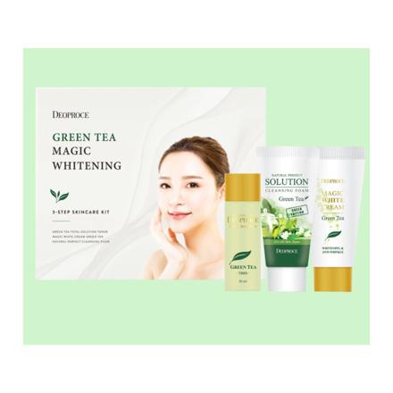 图片 Deoproce Green Tea Magic Whitening Set, 70054119
