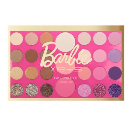 图片 BYS x Barbie 27 Pc Face Palette (Livin' the Dream), CO/FPO27B