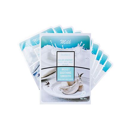 图片 Deoproce Color Synergy Effect Sheet Mask Moist Soothing Smooth (Sky Blue), 38079800