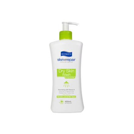 图片 Rosken Dry Skin Wash For Face & Body Pump 400 ml, 661615