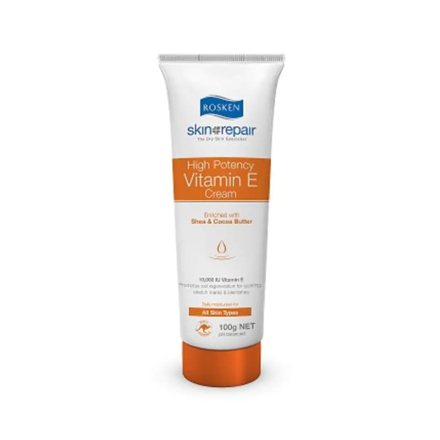 图片 Rosken High Potency Vitamin E Cream Tube 100 g, 601701