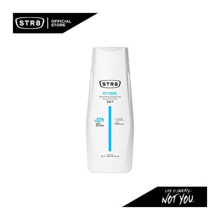 图片 Str8 Shower Gel 400 ml Icy Cool, 8571027194