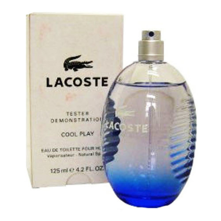 图片 Lacoste Cool Play Blue Men Tester 125 ml, LACOSTECOOLTESTER