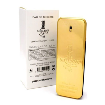 图片 Paco Rabanne 1 Million Men Tester 100 ml, PACORABANNE1MILLIONTESTER