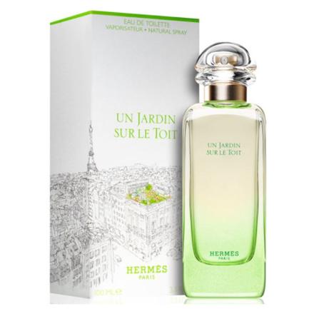 图片 Hermes Un Jardin Sur le toit Women Authentic Perfume 100 ml, HERMESLETOIT