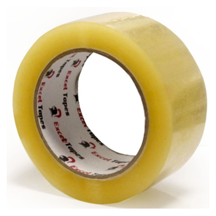 图片 Excel Packaging Tape 45 microns (48mm x 50m, 48mm x 100m) Clear/Tan, EXCELP.TAPE