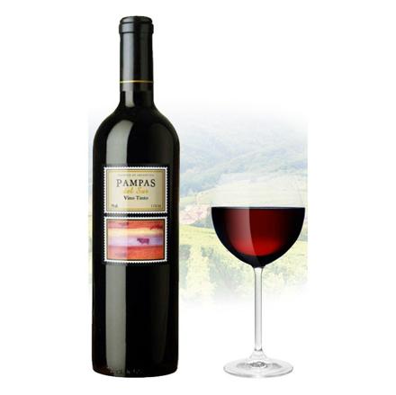 图片 Pampas del sur Tinto Argentinian Red Wine 750 ml, PAMPASTINTO