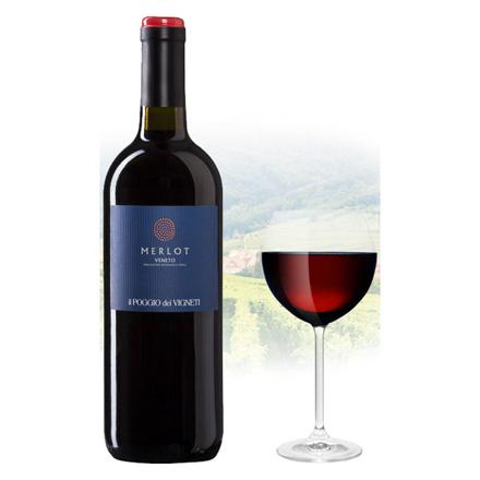 图片 Il Poggio Merlot Italian Red Wine 750 ml, ILPOGGIOMERLOT
