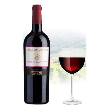 图片 Il Poggio Cabernet Sauvignon Italian Red Wine 750 ml, ILPOGGIOCABERNET