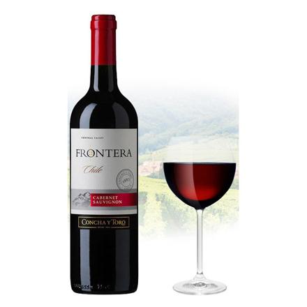 图片 Frontera Cabernet Sauvignon Chilean Red Wine 750 ml, FRONTERACABERNET750