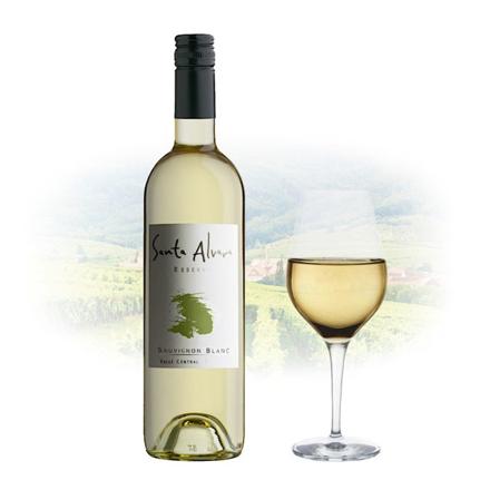 图片 Santa Alvara Reserva Sauvignon Blanc Chilean White Wine 750 ml, SANTAALVARASAUVIGNON