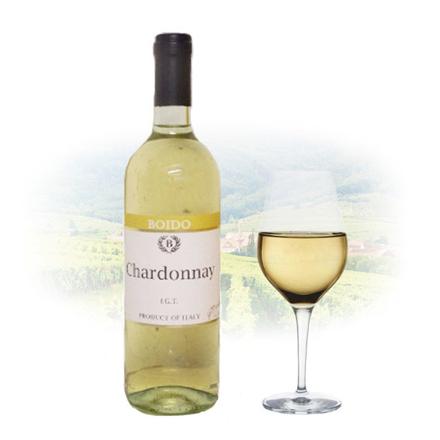 图片 Boido Chardonnay IGT Italian White Wine 750 ml, BOIDOCHARDONNAY