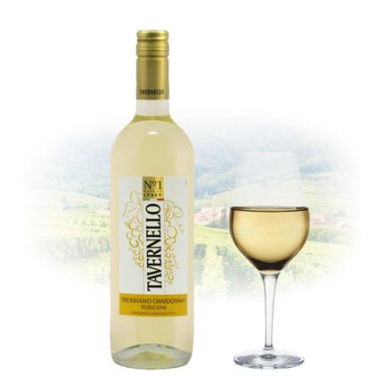 图片 Tavernello Trebbiano Rubicone Chardonnay Italian White Wine 750 ml, TAVERNELLOCHARDONNAY