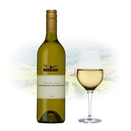 图片 Wolf Blass Unwooded Chardonnay Australian White Wine 750 ml, WOLFBLASSUNWOODED