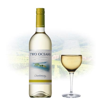 图片 Two Oceans Chardonnay South African White Wine 750 ml, TWOOCEANSCHARDONNAY