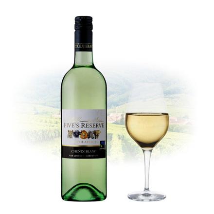 图片 Five's Reserve Chenin Blanc South African White Wine 750 ml, FIVESRESERVECHENIN