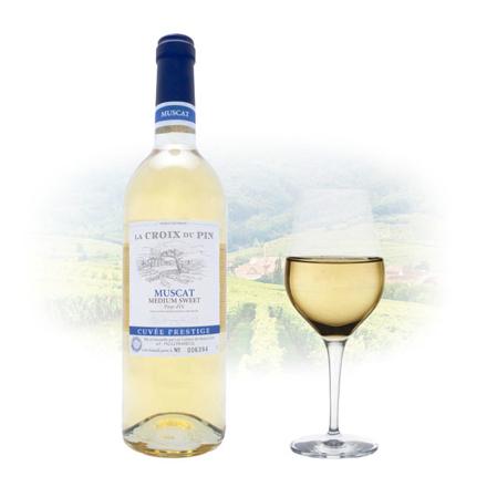 图片 La Croix du Pin Muscat Semi-Sweet French Wine 750 ml, LACROIXMUSCAT
