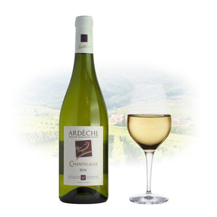 图片 Chantelauze Ardèche Blanc French White Wine 750 ml, CHANTELAUZEBLANC