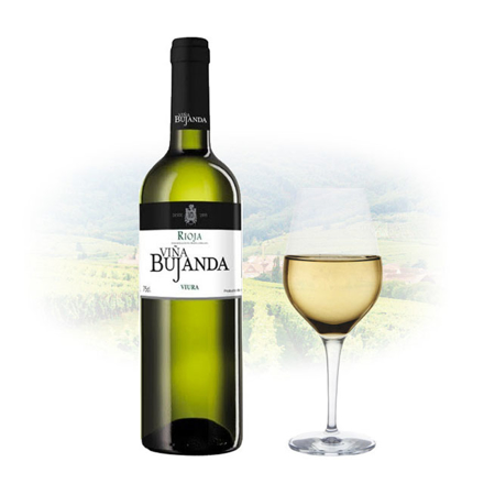 图片 Viña Bujanda Viura Spanish White Wine 750 ml, VINABUJANDAVIURA