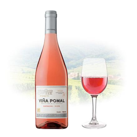 图片 Viña Pomal Garnacha Viura Rose Spanish Pink Wine 750 ml, VINAPOMALROSE