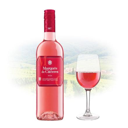 图片 Marques de Cáceres Rioja Dry Rose Spanish Pink Wine 750 ml, MARQUESRIOJA