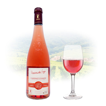 图片 Cabernet d'Anjou Domaine des Forges Rose French Red Wine 750 ml, CABERNETDOMAINEROSE