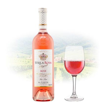 图片 Stella Rosa Moscato Rose (Semi Sweet) Italian Pink Wine 750 ml, STELLAROSAMOSCATO750